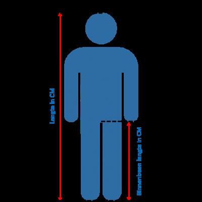 Meten binnenbeen lengte